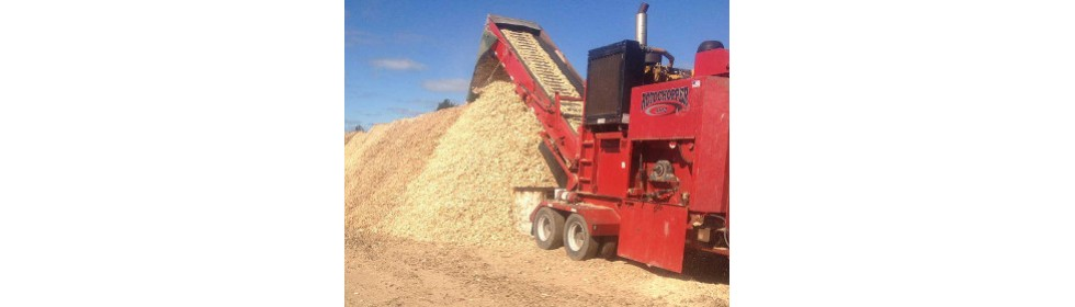 woodchipping machine